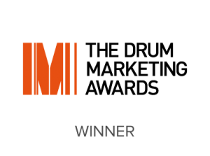 The Drum Marketing Awards Winners for a brand design agency