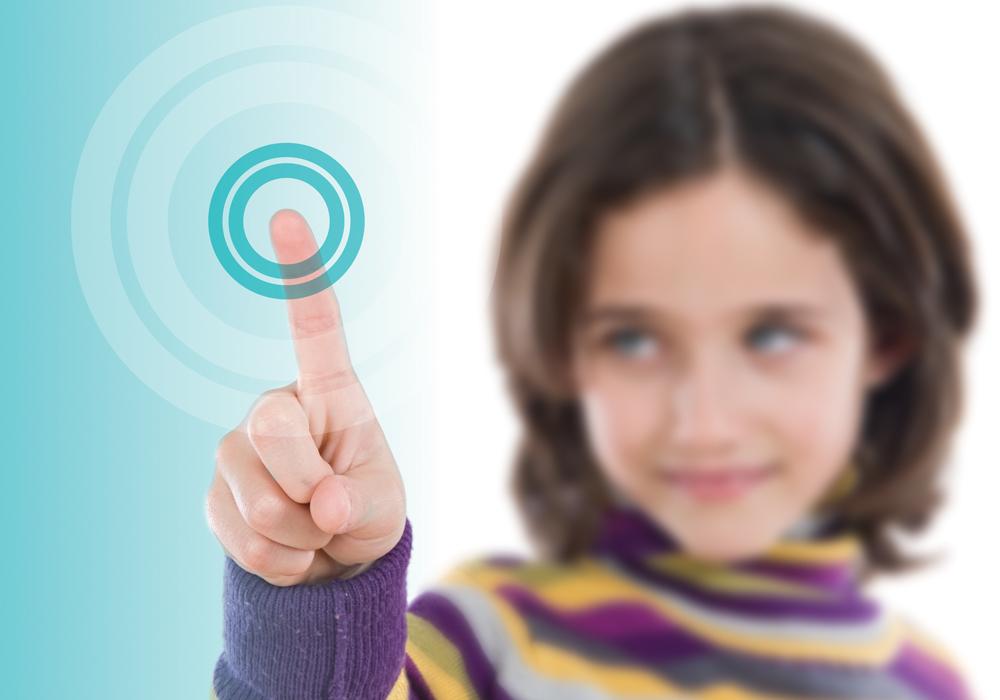ievo rebrand advertisement of fingerprint reader