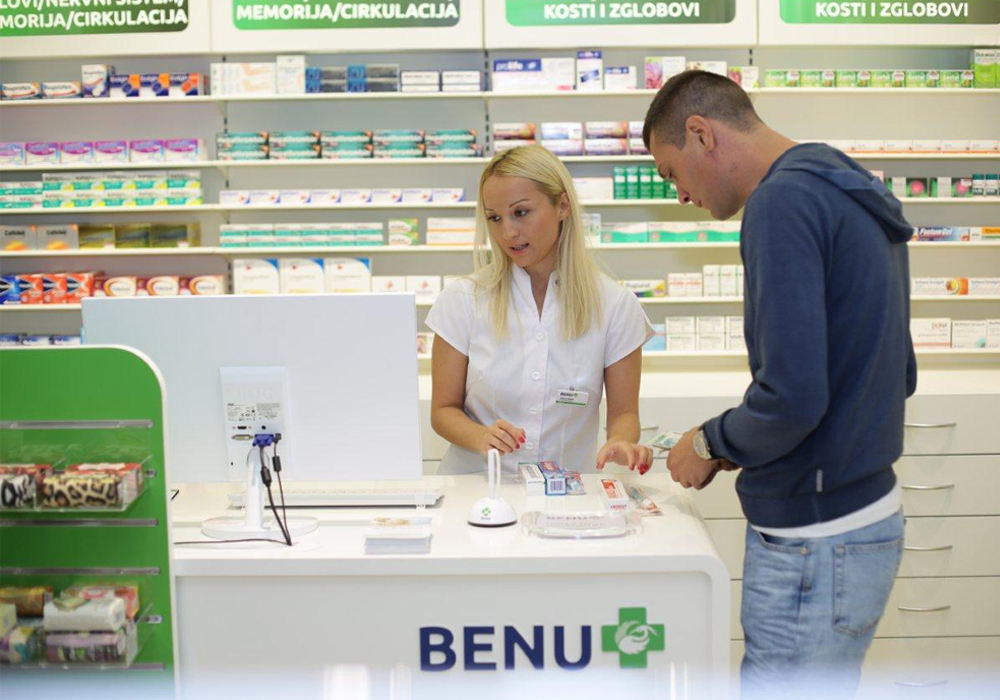 Benu Pharmacy customer transaction