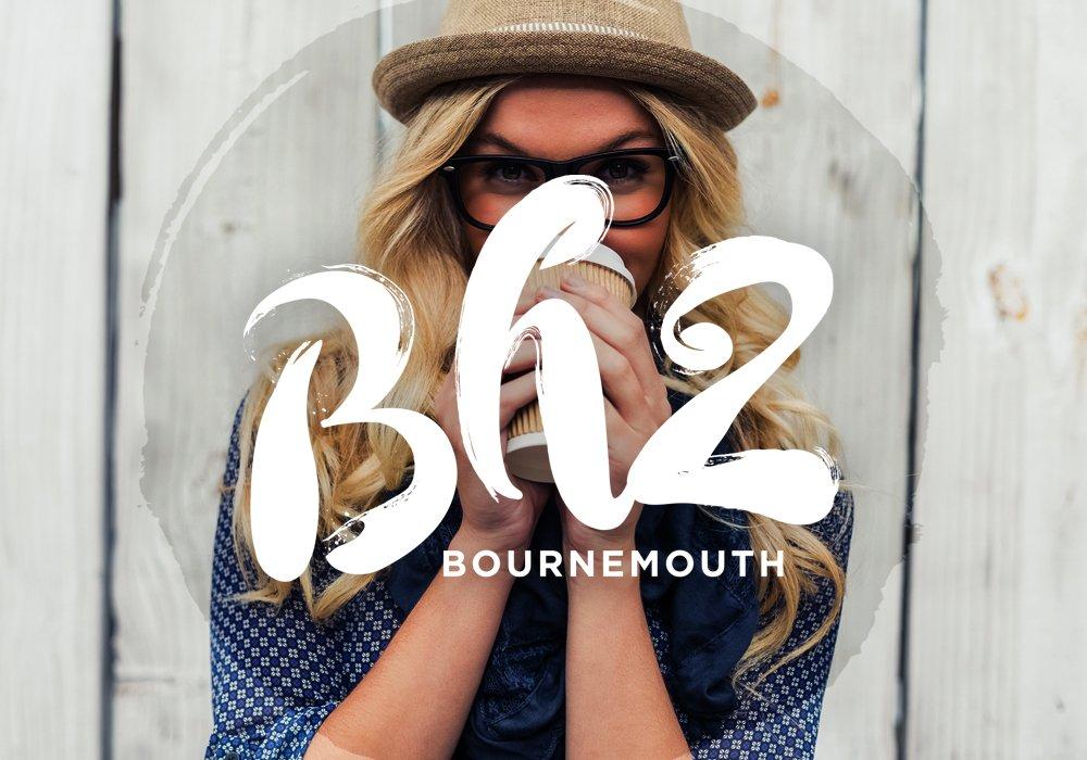 BH2 Bournemouth brand logo quater size