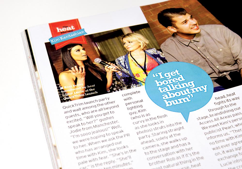 Quick Trim Heat Magazine feature