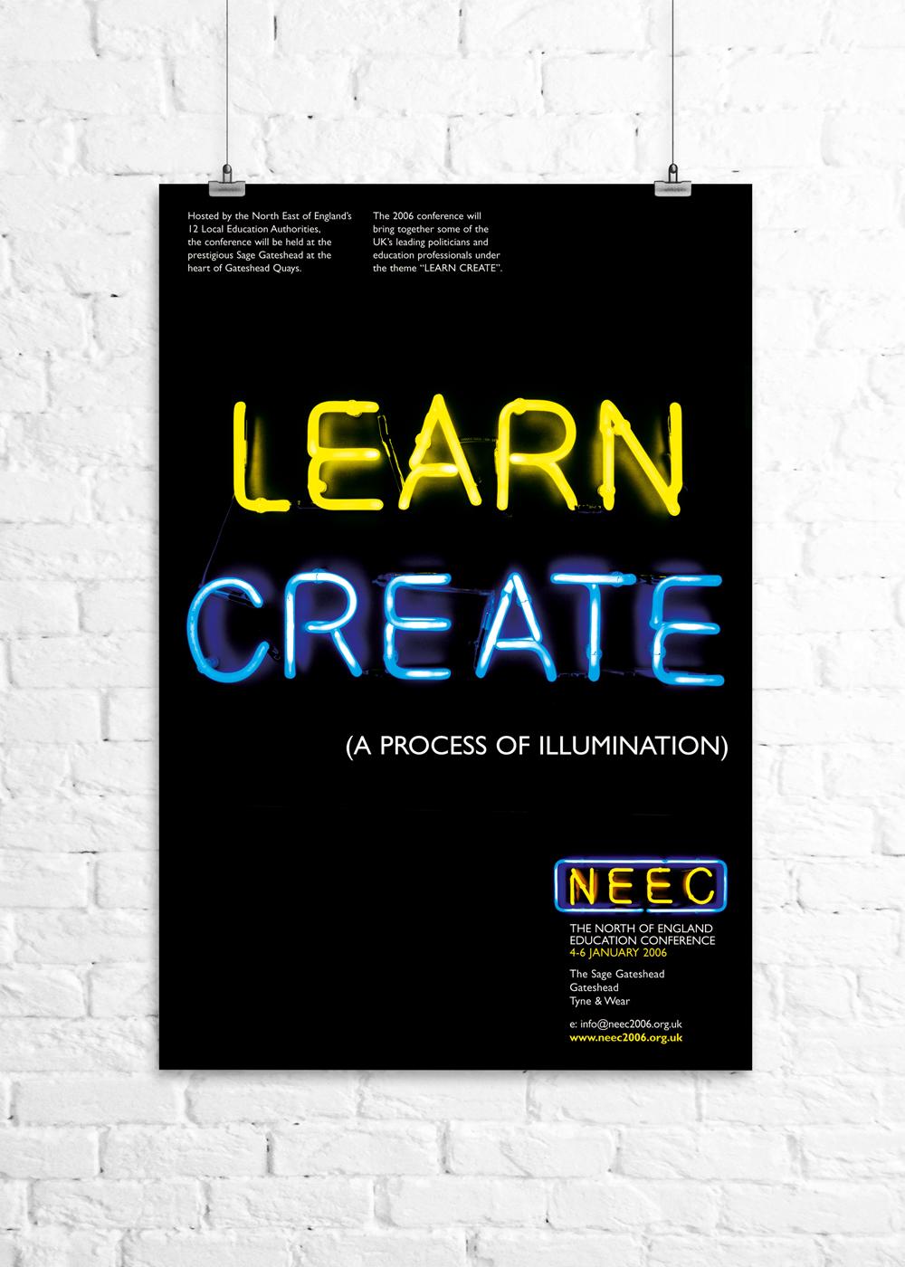 NEEC marketing poster