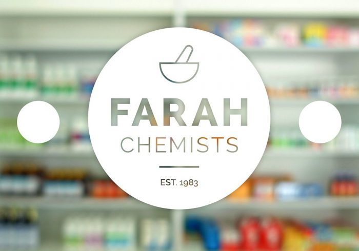 Rebrand for Farah Chemists