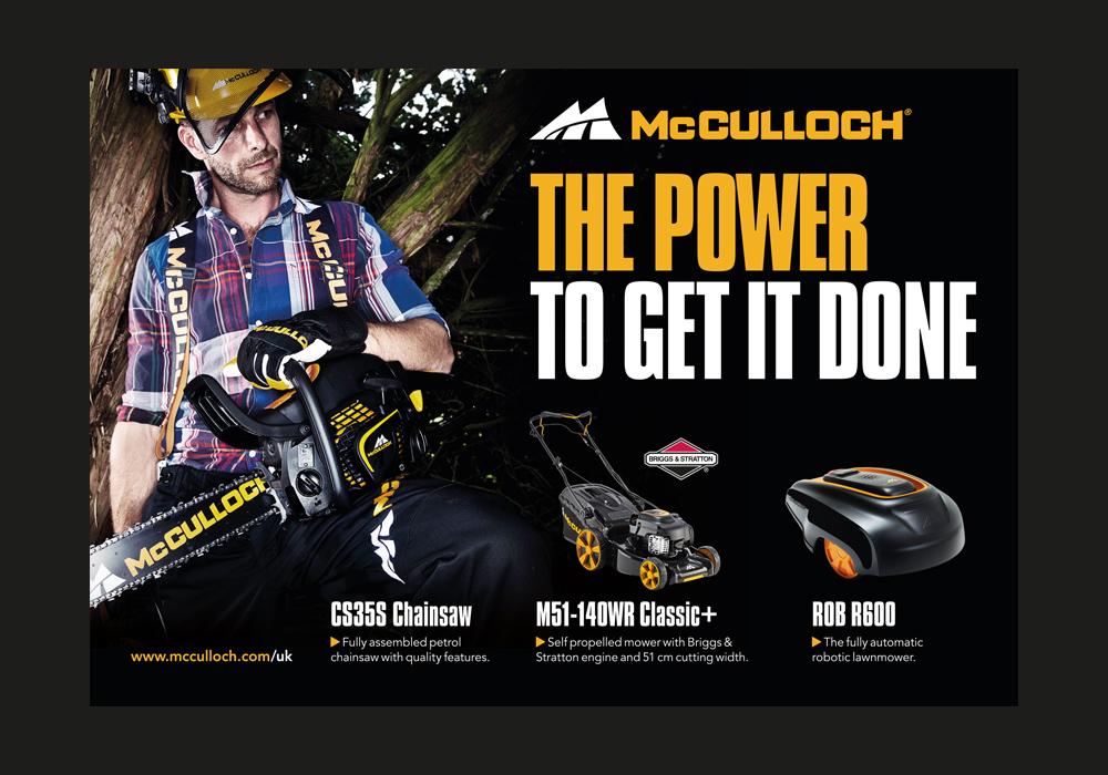 McCulloch Press Ad