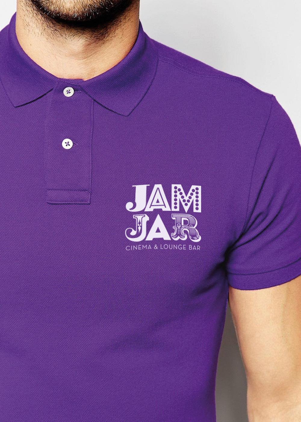 Jam Jar Cinema polo shirt