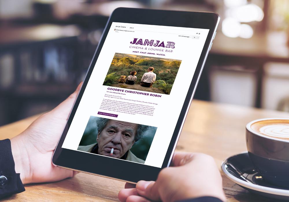 Jam Jar Cinema website.
