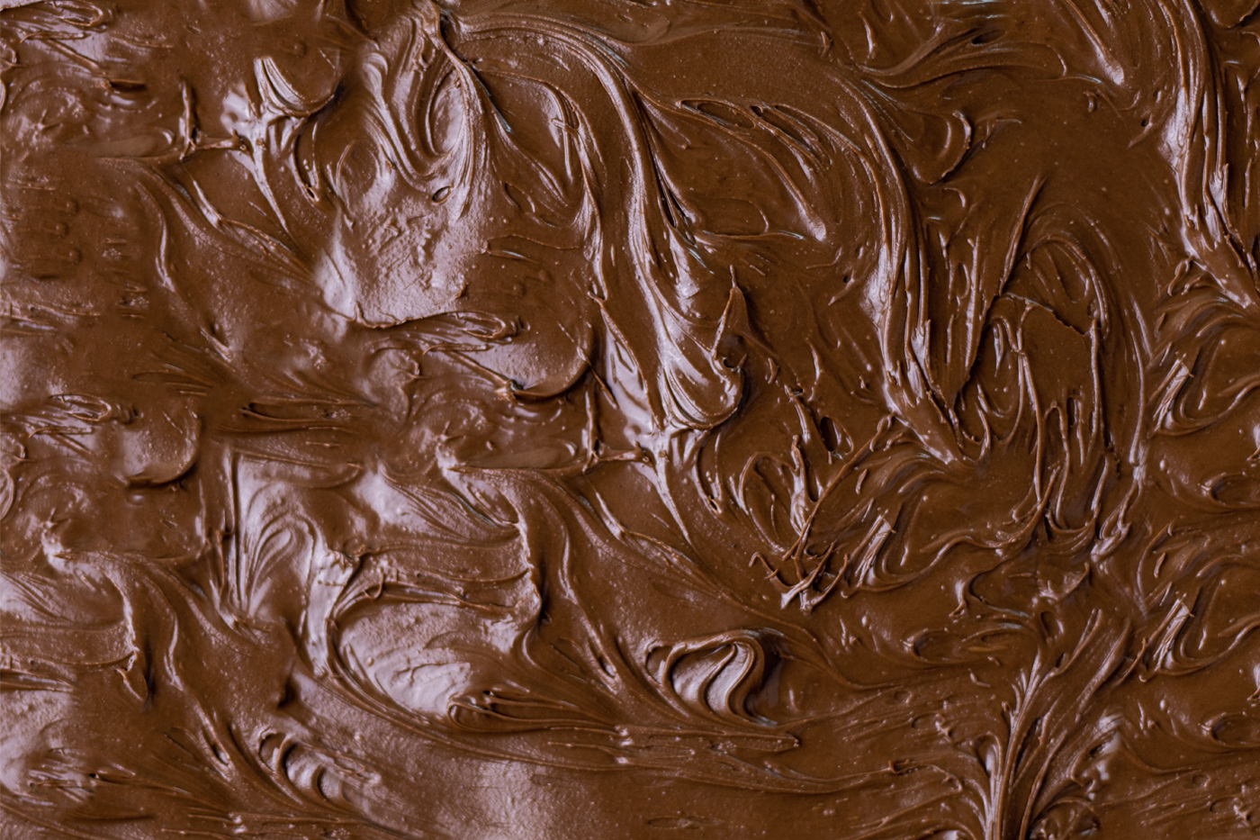 chocolate cake topping